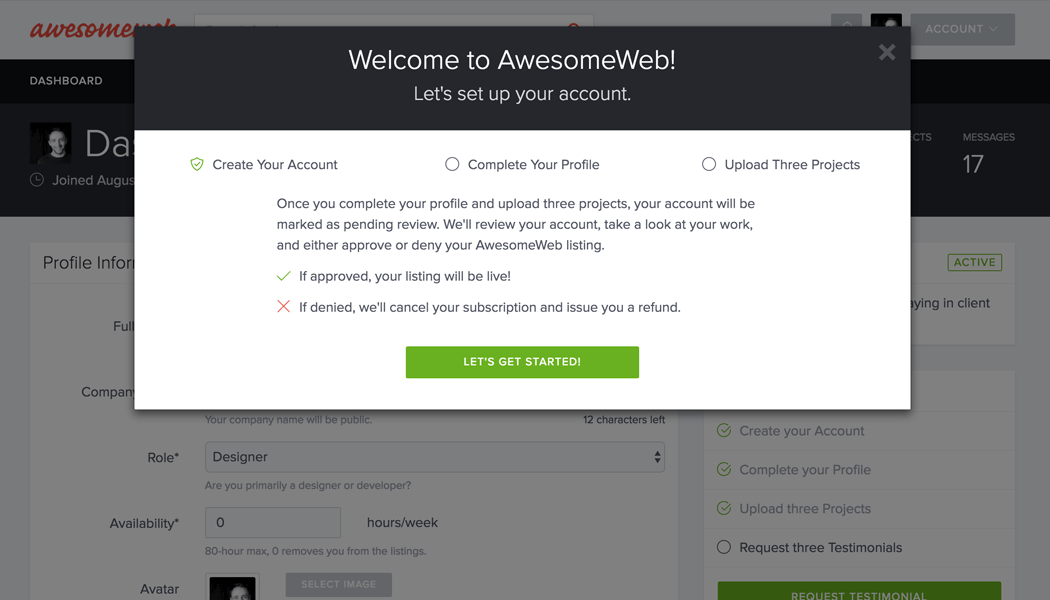 Welcome to AwesomeWeb